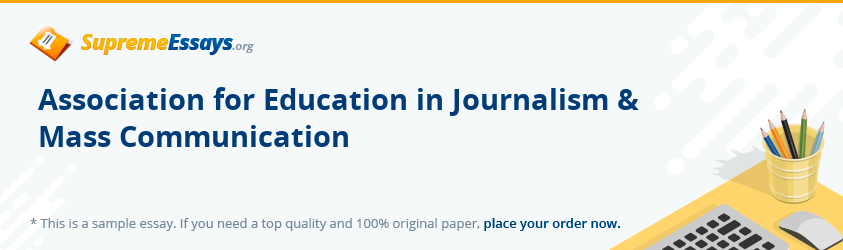 Association for Education in Journalism & Mass Communication