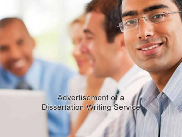 Advertisement of a Dissertation