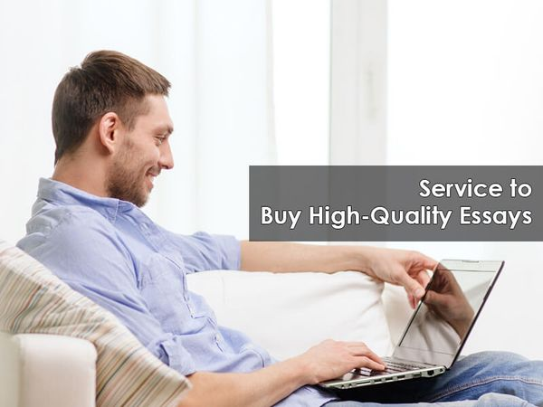 Service to Buy High-Quality Essays